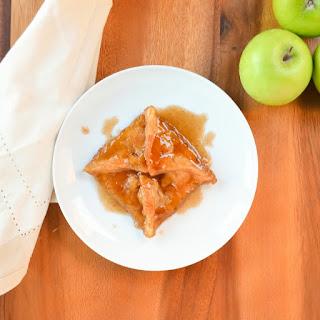 Apple Dumplings In Caramel Cinnamon Syrup