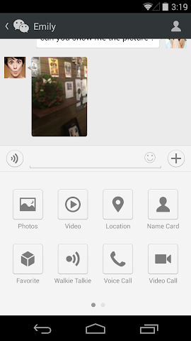 Screenshots for WeChat for Android