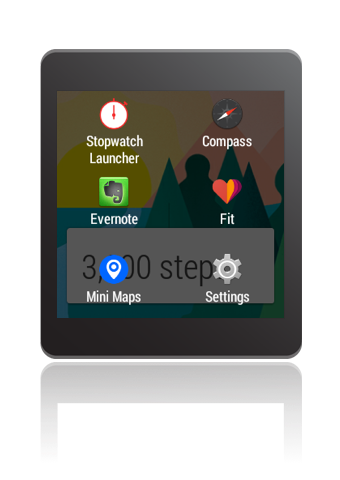 Stopwatch - Wear Mini Launcher