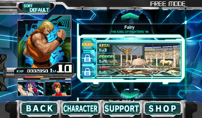 THE RHYTHM OF FIGHTERS - screenshot