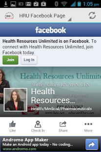 Health Resources Unlimited App- screenshot thumbnail