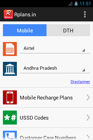 Recharge Plans Offers