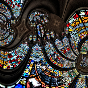 Church Window by Simon Eastop - Buildings & Architecture Places of Worship ( stained, chruch, glass, windows )