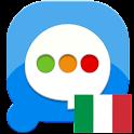 Pansi SMS Italian language logo