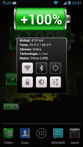 個人化必備APP下載|Battery Widget Premium 好玩app不花錢|綠色工廠好玩App