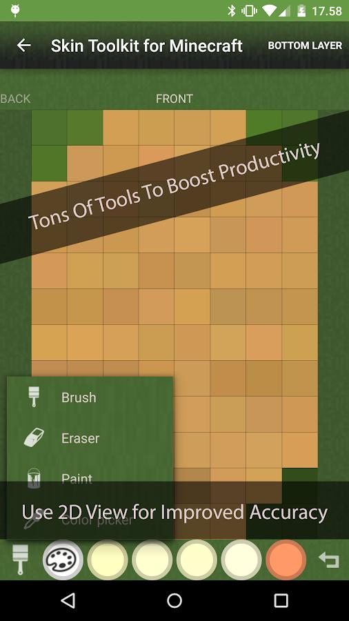 Skin Toolkit for Minecraft - screenshot