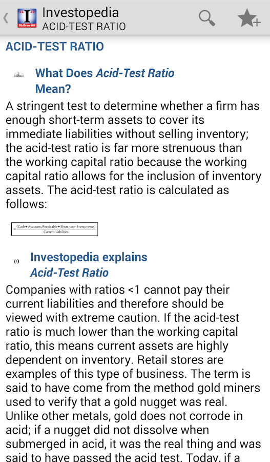 The (I) Investopedia Guide- screenshot