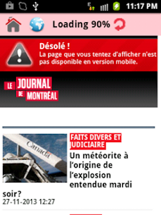 Canada News | Latest News - screenshot thumbnail