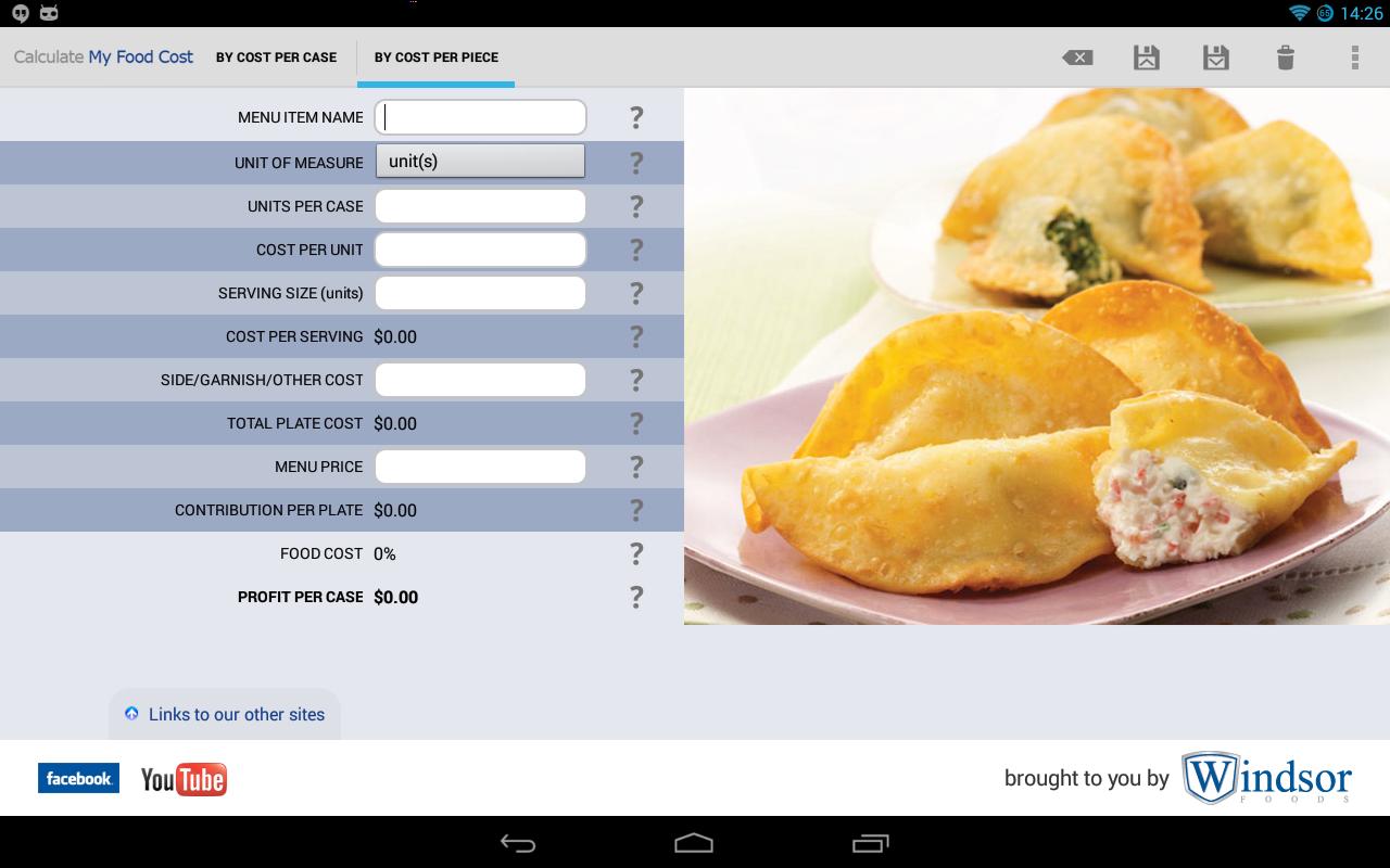 Recipe cost calculator app shefftunes recipe cost calculator app forumfinder Image collections