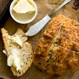 Irish Cheddar And Bacon Soda Bread.