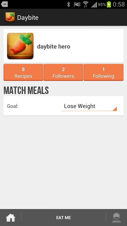 Daybite - healthy diet recipes- screenshot