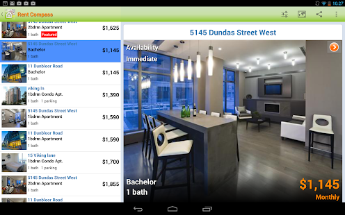 Apartment Rentals in Canada- screenshot thumbnail