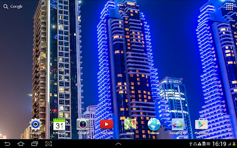 Dubai Night Live Wallpaper screenshot 6