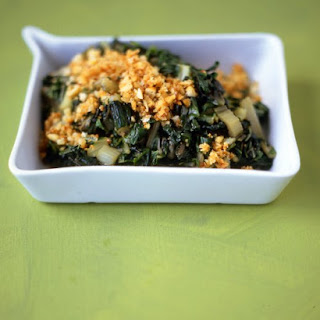Swiss Chard with Toasted Breadcrumbs