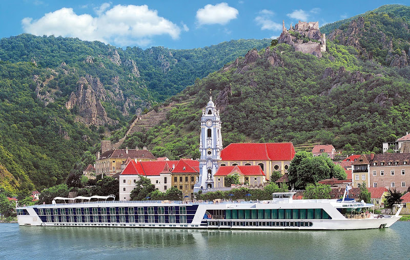 Sail on AmaDagio to Dürnstein, a picture-perfect  town on the Danube River in Austria. Famed as a wine-growing region, it's one of the most visited destinations in the Wachau region.