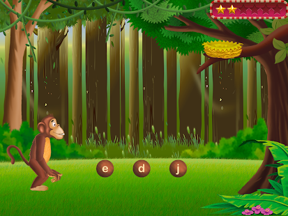 Reading Friends: Jungle A to Z- screenshot thumbnail