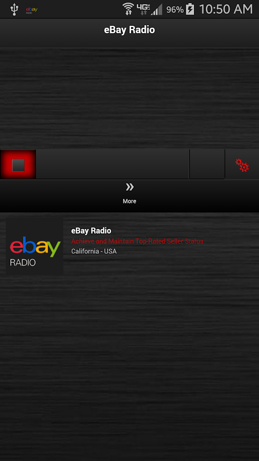 eBay Radio- screenshot