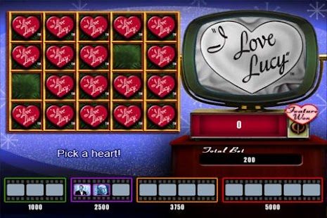 I Love Lucy - Slot - screenshot thumbnail
