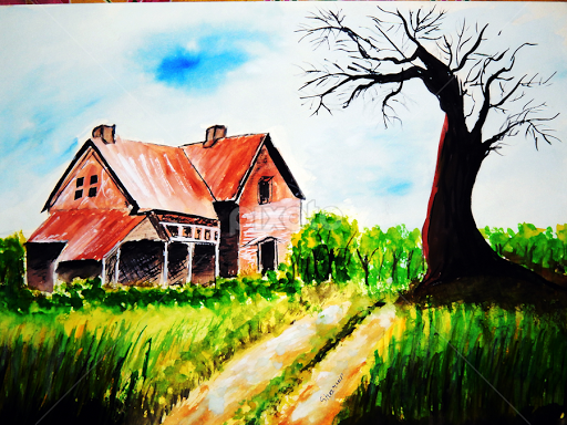 my dream house | all painting | painting | pixoto