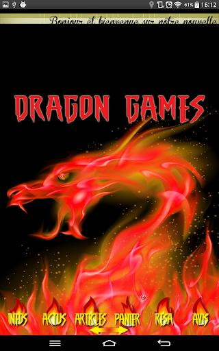 Dragon Games Jeux Vidéos