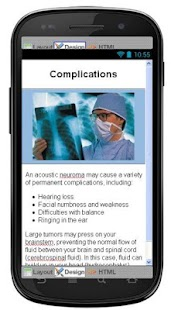 Acoustic Neuroma Information screenshot