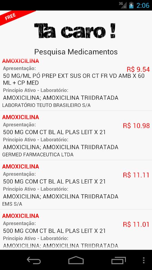 Preços de Medicamentos- screenshot