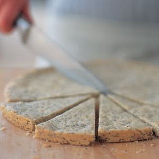 Lemon–Poppy Seed Shortbread