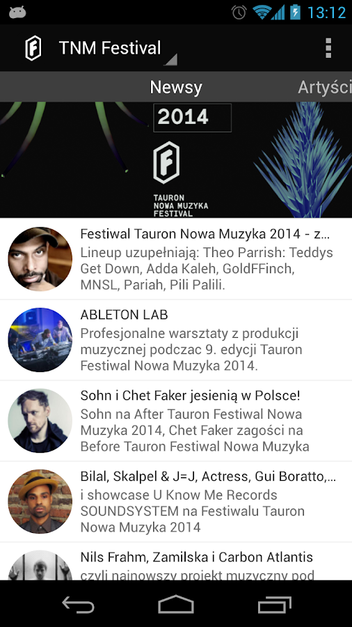 TNM Festival 2014- screenshot