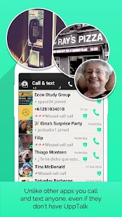 UppTalk Free Calls Text & Chat - screenshot thumbnail