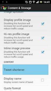 Twidere TwitLonger Extension - screenshot thumbnail