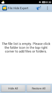 File Hide Expert - screenshot thumbnail