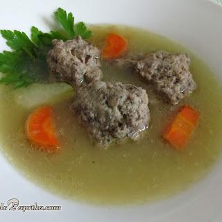 Liver Dumplings Soup – Hungarian Recipe (Májgombócleves)