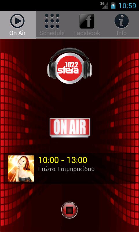 Radio Sfera 102.2 Official - στιγμιότυπο οθόνης
