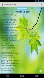 Thơ Xuân Quỳnh- screenshot thumbnail