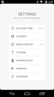 Screenshot of Timelog Lite
