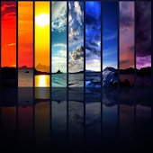 Spectrum of the sky