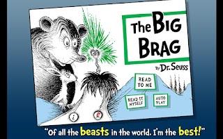 Screenshot of The Big Brag - Dr. Seuss