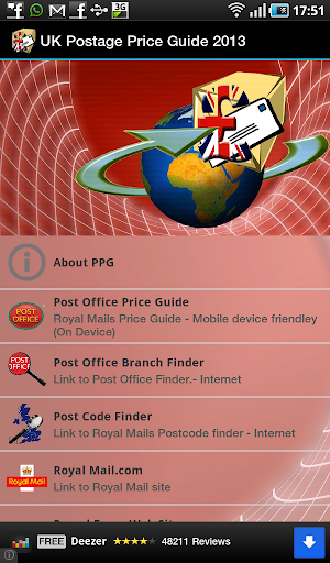 UK Postage Price Guide 2014