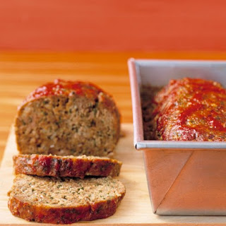 Meatloaf With Chili Sauce.