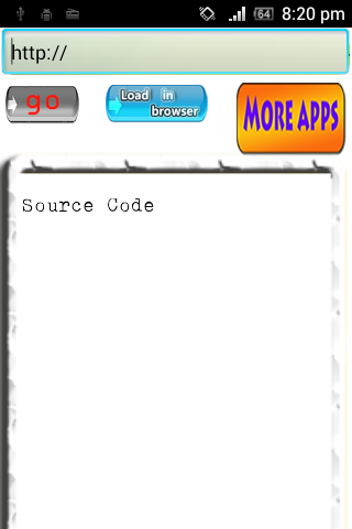 PaGe SoUrCe - screenshot