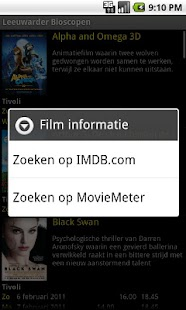 Leeuwarder Bioscopen - screenshot thumbnail