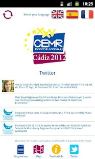 CEMR 2012 - screenshot thumbnail