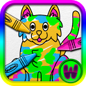 Paint Animals for Toddlers icon