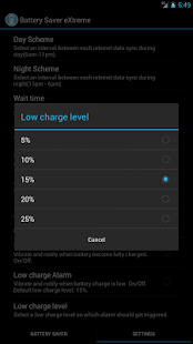 Battery Saver eXtreme - screenshot thumbnail