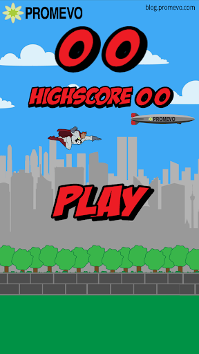 Promevo Flappy Superhero
