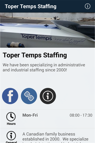 Toper Temps Staffing