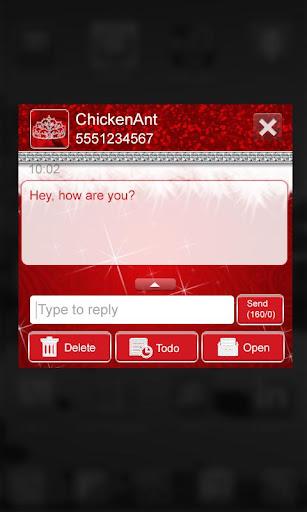 免費下載個人化APP|Diva Christmas GO SMS Theme app開箱文|APP開箱王