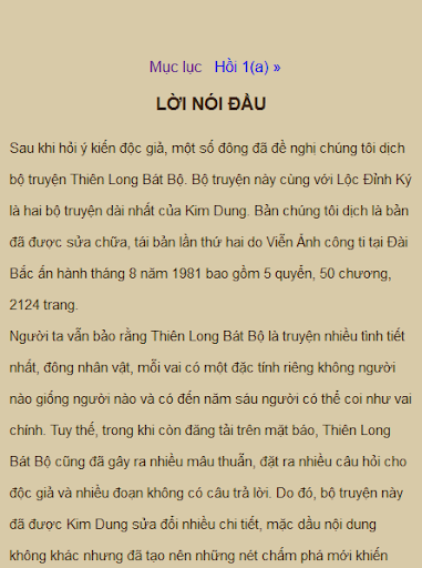 Thien Long Bat Bo