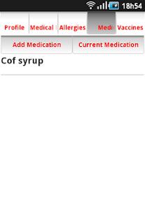 Medical ID- screenshot thumbnail