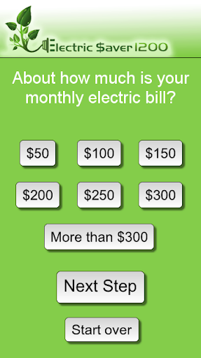 Electricity Saving Calculator